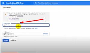 Cara Membuat API Key Untuk Google Custom Search