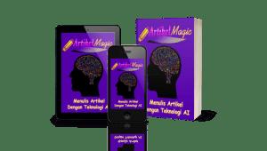 Tool Artikel Magic menggunakan teknologi AI